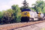 CSX AC4400CW #206 Shelby, Oh