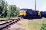 CSX AC4400CW #417 Shelby, Oh