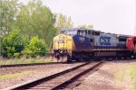 CSX C40-8W #7813 Shelby, Oh