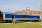 RNCX 400204, NCDOT passenger car 'Currituck Sound' on display at Streamliners