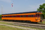 PPCX 800464, Milwaukee Road business car 'Wisconsin' on display at Streamliners