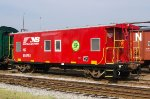 NS 555761, Bay Window Caboose, at Streamliners