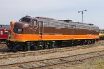 IP 515, EMD E8A, from Ed Ellis and the Iowa Pacific Holdings in Chicago Illinois,
