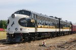 NS 4270, NS4271, EMD F9A, from the Norfolk & Southern railroad business train,