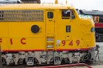 UP 949, EMD E9A, from the Union Pacific railroad at Cheyenne Wyoming