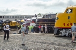 Half the lineup at the NCTM's Bob Julian Roundhouse at Streamliners