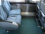 66 seat coach interior detail