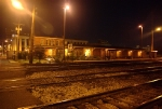 Amtrak Station at Night