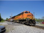 BNSF 5857 leads a Plant Scherer coal train across Piedmont Ave.Untitled