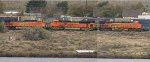BNSF 6777 - BNSF 8791 - BNSF 4614