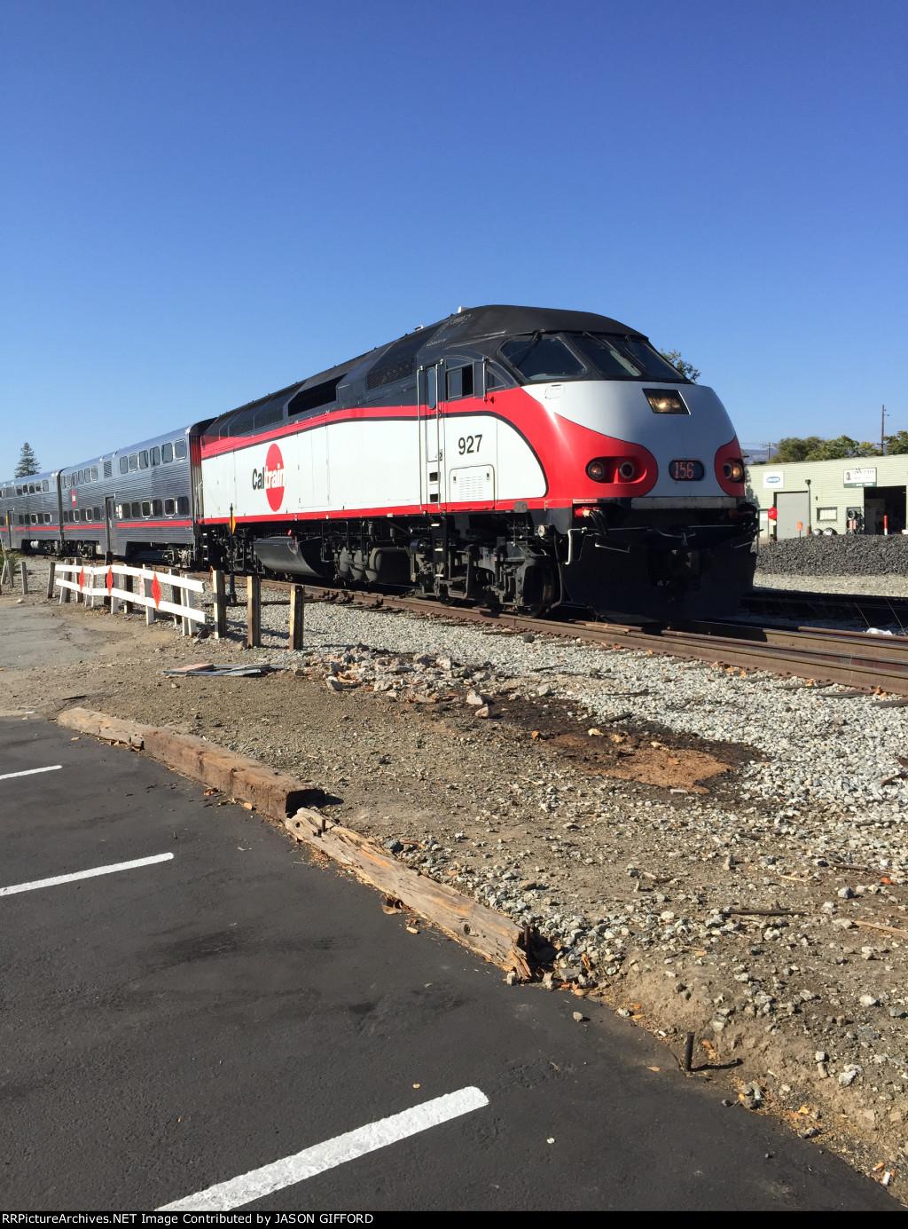 Caltrain 927