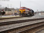 NS 24E with a belle leader soars through Austell