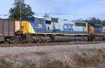 CSX 764 on a SB coal train
