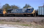 CSX 5576 on NB freight