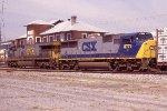 CSX 8777 ex Con on Q409