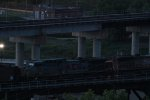 KCSM 4532 trails on a Up loaded coal drag.