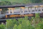 UP 6607 Dpu on a SB coal load.