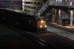 BNSF 6671 Rips on a WB Q train past Union Station.