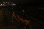 BNSF 9397 Dpu on a WB grain train.