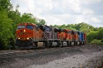 BNSF 7380 Heads up one cool freight train.