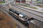 BNSF 9769 Dpu on a empty coal train.
