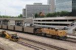 UP 6908 Dpu on loaded coal drag.