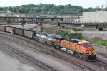 BNSF 6180 Heads up a coal drag down the Fort Scott Sub.
