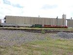 BNSF 1233, BNSF 1227, BNSF 2378, BNSF 1662, NOKL 825412, and KYLE 20558