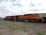 BNSF 4691 and BNSF 5312