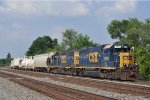 CSXT 6396 On CSX Y 201 South Out Of The Old Yard