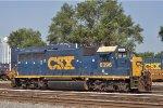 CSXT 6396 On CSX Y 101-22 Looking North