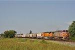 BNSF 938 On CSX K 803 Southbound
