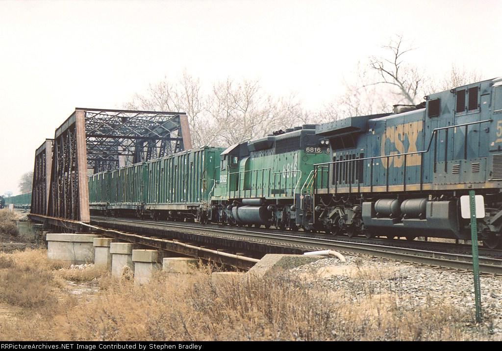 BNSF 6816