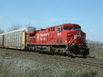CP 8557 waiting on the passing track