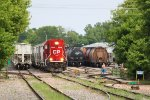 CP 2213 switching the yard