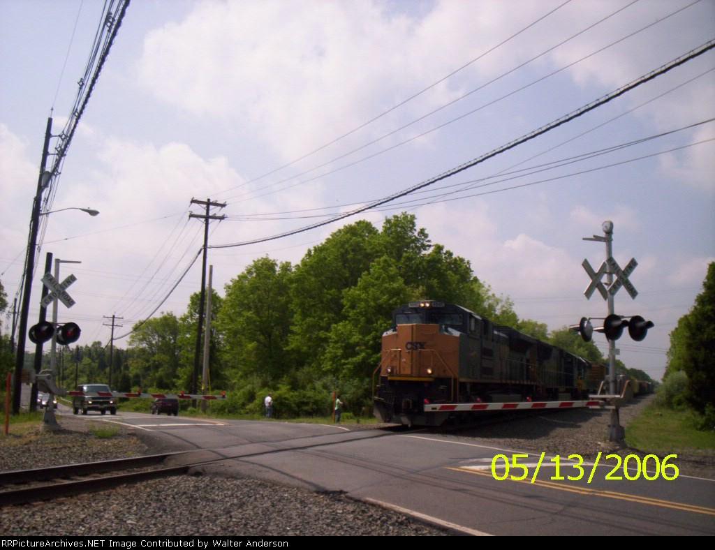 NB on the Trenton line