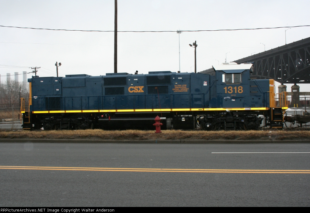 CSX Genset #1318 off Central Ave.