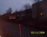 NS 9963 at dusk