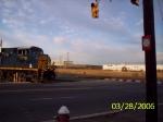 CSX 5208 nosing out of the intermodal yard