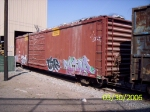 Boxcar converted to hopper