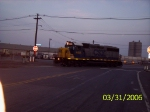 CSX 4415 crossing Export St