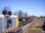 NS Autorack train passing 31E