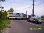 CSX 2810 heading into Metuchen Yard