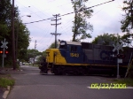 CSX 1543 crossing High St.