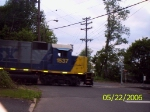 CSX 1537 on the tail end