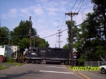 NS 5314(missing its stripes) leads ME18 across High St.