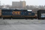 CSX # 6062 entering the 69th St yard