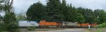 AMTK 124 (going forward) - BNSF 3849 - CREX 1322 - BNSF 599 - BNSF 6622