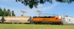 BNSF 2079 (with AEX 8425 covered hopper)