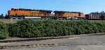 BNSF 7387 at lead with BNSF 7536